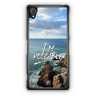 YuBingo I'M Possible Designer Mobile Case Back Cover For Sony Xperia Z2
