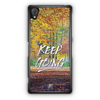 YuBingo Keep Going Designer Mobile Case Back Cover For Sony Xperia Z2