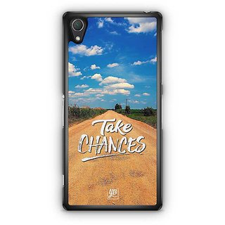 YuBingo Take Chances Designer Mobile Case Back Cover For Sony Xperia Z2