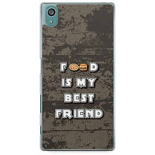 YuBingo Food Is My Best Friend Designer Mobile Case Back Cover For Sony Xperia Z5