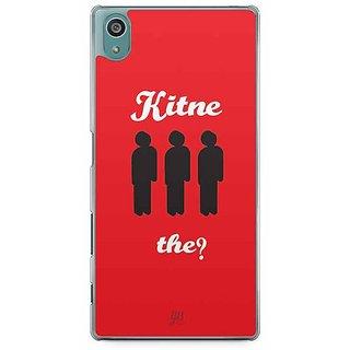 YuBingo Kitne Aadmi The? Designer Mobile Case Back Cover For Sony Xperia Z5