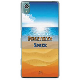 YuBingo Breathing Space Designer Mobile Case Back Cover For Sony Xperia Z5