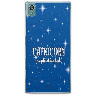 YuBingo Capricorn (Sophisticated) Designer Mobile Case Back Cover For Sony Xperia Z5