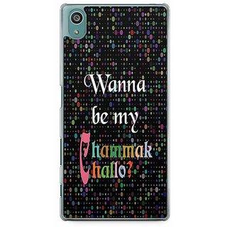 YuBingo Wanna Be My Chammak Challo? Designer Mobile Case Back Cover For Sony Xperia Z5