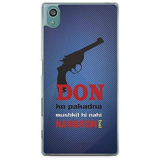 YuBingo Don Ko Pakadna Mushkil Hi Nahin Namumkin Hai Designer Mobile Case Back Cover For Sony Xperia Z5