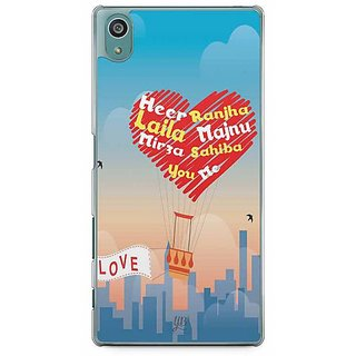 YuBingo The Love Couples Designer Mobile Case Back Cover For Sony Xperia Z5