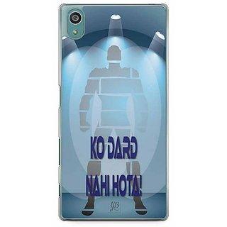 YuBingo Mard Ko Dard Nahin Hota Designer Mobile Case Back Cover For Sony Xperia Z5