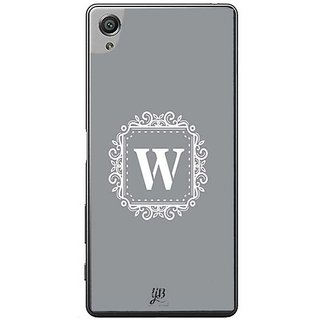 YuBingo Monogram With Beautifully Written Letter W Designer Mobile Case Back Cover For Sony Xperia XA