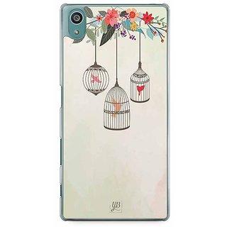 YuBingo Birds In Cage Designer Mobile Case Back Cover For Sony Xperia Z5