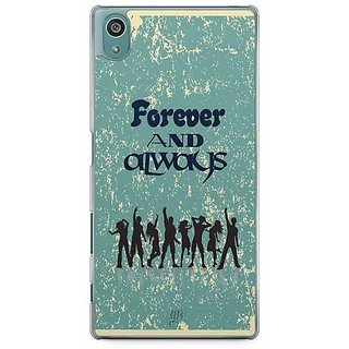 YuBingo Forever And Always Designer Mobile Case Back Cover For Sony Xperia Z5