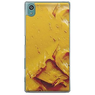 YuBingo Yellow Oil Paint Designer Mobile Case Back Cover For Sony Xperia Z5