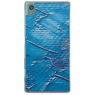 YuBingo Blue Oil Paint Designer Mobile Case Back Cover For Sony Xperia Z5