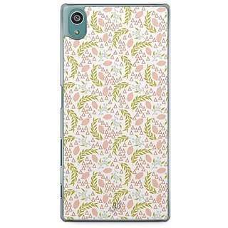 YuBingo Leafy Pattern Designer Mobile Case Back Cover For Sony Xperia Z5