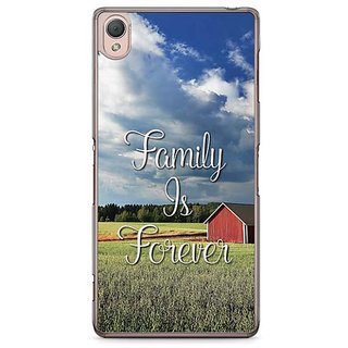 YuBingo Family Is Forever Designer Mobile Case Back Cover For Sony Xperia Z3