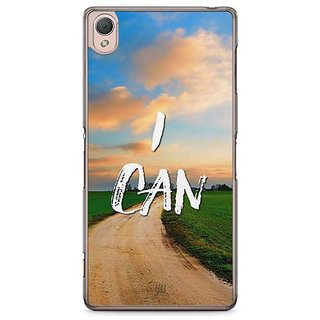 YuBingo I Can Designer Mobile Case Back Cover For Sony Xperia Z3