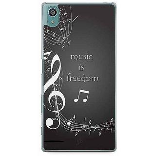 YuBingo Music Is Freedom Designer Mobile Case Back Cover For Sony Xperia Z5