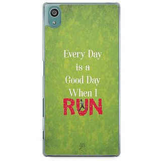YuBingo Every Day Is A Good Day When I Run Designer Mobile Case Back Cover For Sony Xperia Z5