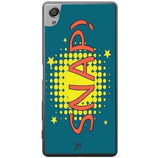 YuBingo Snap! Designer Mobile Case Back Cover For Sony Xperia XA