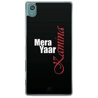 YuBingo Mera Yaar Kamina Designer Mobile Case Back Cover For Sony Xperia Z5