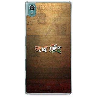 YuBingo Jai Hind Designer Mobile Case Back Cover For Sony Xperia Z5