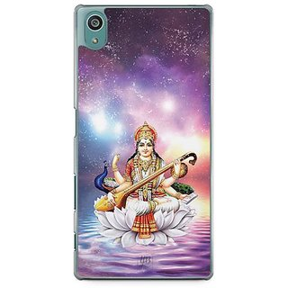 YuBingo Maa Saraswati Designer Mobile Case Back Cover For Sony Xperia Z5