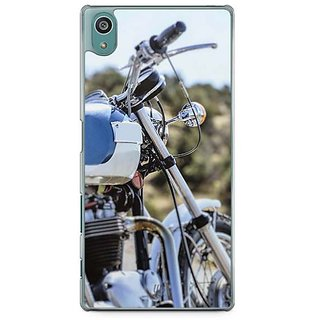 YuBingo Bike Designer Mobile Case Back Cover For Sony Xperia Z5
