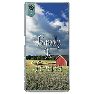 YuBingo Family Is Forever Designer Mobile Case Back Cover For Sony Xperia Z5