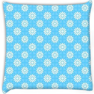 Snoogg  festive flourish pattern Digitally Printed Cushion Cover Pillow 18 x 18 Inch