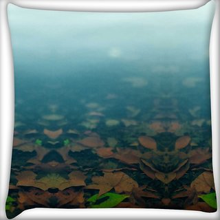 Snoogg after all Digitally Printed Cushion Cover Pillow 18 x 18 Inch