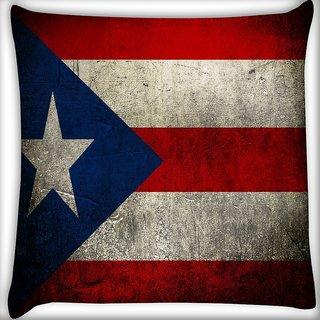 Snoogg International Flag Digitally Printed Cushion Cover Pillow 18 x 18 Inch
