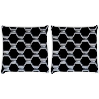 Snoogg Train Cage Digitally Printed Cushion Cover Pillow 22 x 22 Inch