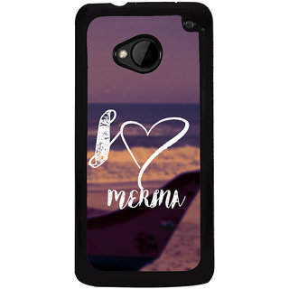 Ayaashii I Love Marina Back Case Cover for HTC One M8::HTC M8