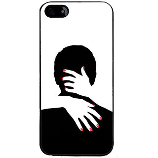 Ayaashii Man Shadow Back Case Cover for Apple iPhone 5::Apple iPhone 5S