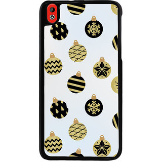 Ayaashii Chirstmas Balls Back Case Cover for HTC Desire 816::HTC Desire 816 G