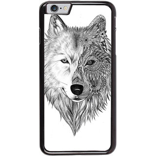 Ayaashii Fox Face Back Case Cover for Apple iPhone 6S Plus