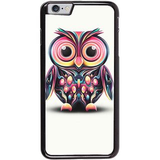 Ayaashii Colorful Owl Back Case Cover for Apple iPhone 6 Plus