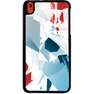 Ayaashii Colorful Abstract Back Case Cover for HTC Desire 816::HTC Desire 816 G