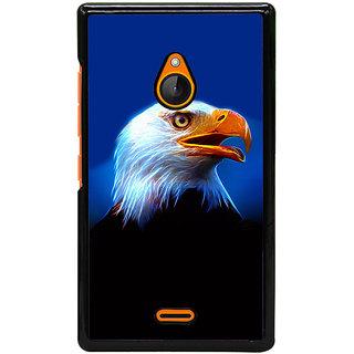 Ayaashii Fox Face Back Case Cover for Nokia Lumia 540::Microsoft Lumia 540