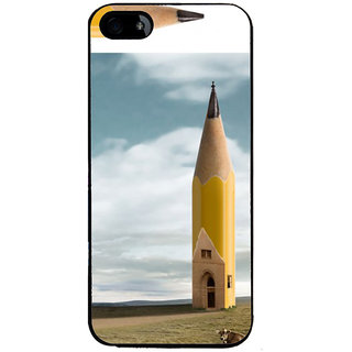 Ayaashii Pencil Tower Back Case Cover for Apple iPhone 5::Apple iPhone 5S