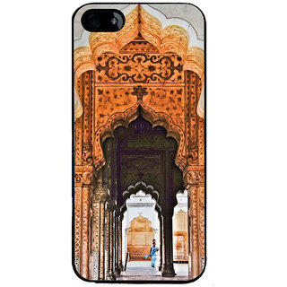 Ayaashii Architecture Back Case Cover for Apple iPhone 5::Apple iPhone 5S