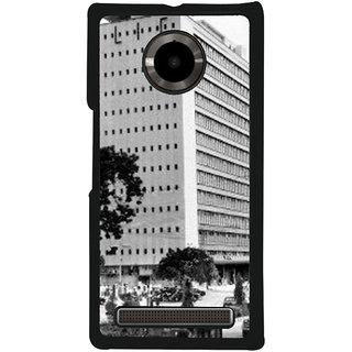 Ayaashii Washington USA Back Case Cover for YU Yuphoria::Micromax Yuphoria YU5010