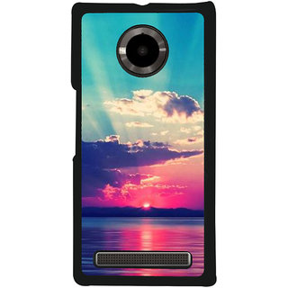 Ayaashii Bridge Painting Back Case Cover for YU Yuphoria::Micromax Yuphoria YU5010