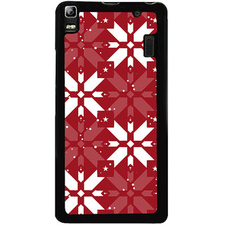 Ayaashii Box Pattern Back Case Cover for Lenovo K3 Note