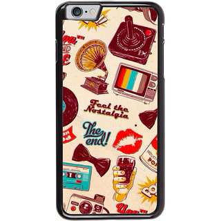 Ayaashii Feel The Nostalgia Patter Back Case Cover for Apple iPhone 6S Plus