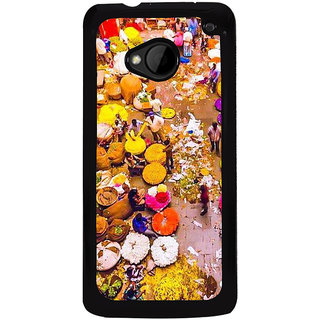 Ayaashii Colorful Abstract Back Case Cover for HTC One M8::HTC M8
