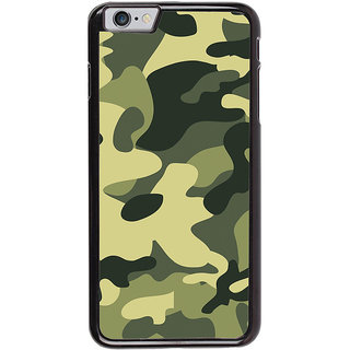 Ayaashii Army Stule Pattern Back Case Cover for Apple iPhone 6S Plus
