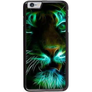 Ayaashii Animated Tiger Face Back Case Cover for Apple iPhone 6S Plus