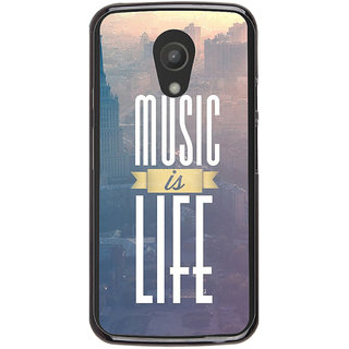 Ayaashii Music Is Life Back Case Cover for Meizu M1 Note::Meizu Note1
