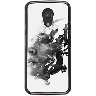 Ayaashii Face With Birds Back Case Cover for Meizu M1 Note::Meizu Note1