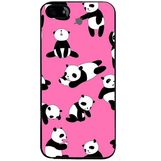 Ayaashii Panda Pattern Back Case Cover for Apple iPhone 5::Apple iPhone 5S